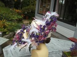 Capeline venise aux violettes 009