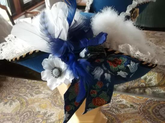 Tricorne bleu 003